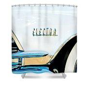 1959 Buick Electra Emblem Shower Curtain