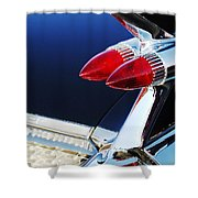 1959 Cadillac Eldorado Taillight -075c Shower Curtain