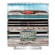 1959 Chevrolet Apache 012315 Shower Curtain
