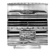 1959 Chevrolet Apache Bw 012315 Shower Curtain