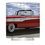 1959 Edsel Corsair Shower Curtain by Mike McGlothlen