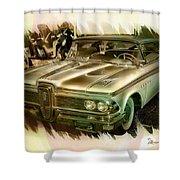 1959 Edsel Shower Curtain