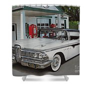 1959 Edsel Ranger Shower Curtain