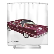 Imperial By Chrysler Shower Curtain