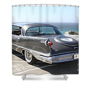 1959 Imperial Crown Shower Curtain