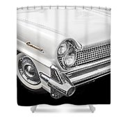 1959 Lincoln Continental Chrome Shower Curtain