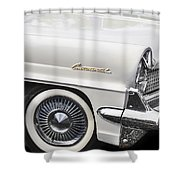 1959 Lincoln Continental Shower Curtain