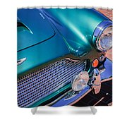 1960 Aston Martin Db4 Series II Grille Shower Curtain