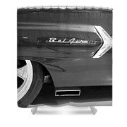 1960 Chevrolet Bel Air 3bw 012315 Shower Curtain
