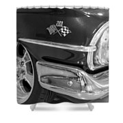 1960 Chevrolet Bel Air Bw 012315 Shower Curtain