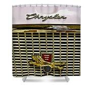 1960 Chrysler Windsor Hood Grill Shower Curtain