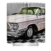 1960 Chrysler Windsor Shower Curtain