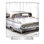 Continental Shower Curtain