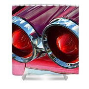 1960 Cool Catalina Shower Curtain