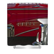 1960 Edsel Taillight Shower Curtain