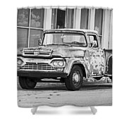1960 Ford F-250 Shower Curtain
