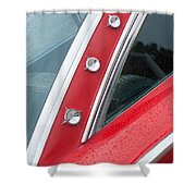 1960 Ford Galaxie Starliner Shower Curtain