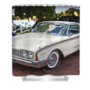 1960 Ford Starliner Shower Curtain