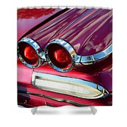 1960 Jet Engine Styling Shower Curtain