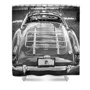 1960 Mga 1600 Convertible Bw Shower Curtain