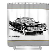 Plymouth Fury Shower Curtain