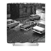1960's Classic Cars    Ref-252 Shower Curtain