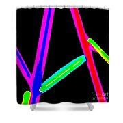 1960s Neon Shower Curtain