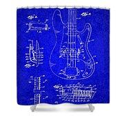 1961 Fender Guitar Shower Curtain