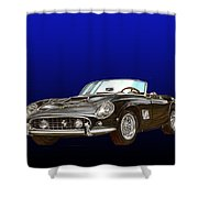 1961 Ferrari 250 G T California Shower Curtain
