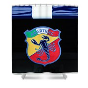1961 Fiat-abarth 1000 Bialbero Gt Competition Coupe Emblem Shower Curtain