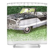 1961 Nash Metro Convertible Shower Curtain