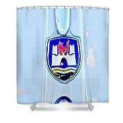 1961 Volkswagen Vw Emblem Shower Curtain