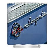 1962 Chevrolet Impala Emblem Shower Curtain