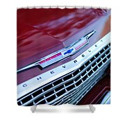1962 Chevrolet Impala Ss Grille Shower Curtain