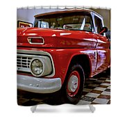 1963 Chev Pick Up Shower Curtain