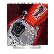 1963 Chevrolet Corvette Split Window Dash -155c Shower Curtain