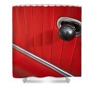 1963 Chevrolet Corvette Split Window Door Latch -185c Shower Curtain