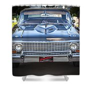 1963 Chevrolet Impala Ss 409 Shower Curtain