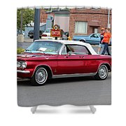 1963 Corvair Shower Curtain