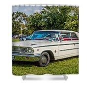 1963 Ford Galaxie 500xl Hardtop Shower Curtain