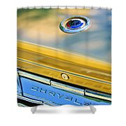 1964 Chrysler 300k Convertible Emblem -3529c Shower Curtain