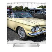 1964 Corvair Shower Curtain