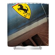 1964 Ferrari 275 Gtb-c Speciale Emblem -0352c Shower Curtain