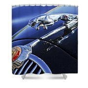 1964 Jaguar Mk2 Saloon Shower Curtain