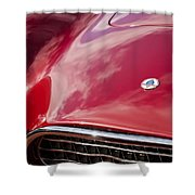 1964 Shelby 289 Cobra Grille -0840c Shower Curtain