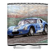 1964 Shelby Daytona Shower Curtain