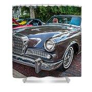 1964 Studebaker Golden Hawk Gt Painted Shower Curtain