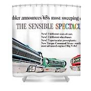 1965 - Rambler - Ambassador - American - Automobile Advertisement - Color Shower Curtain