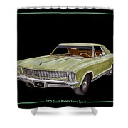1965 Buick Riviera Gran Sport Shower Curtain