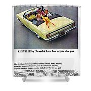 1965 Chevelle Convertible Shower Curtain